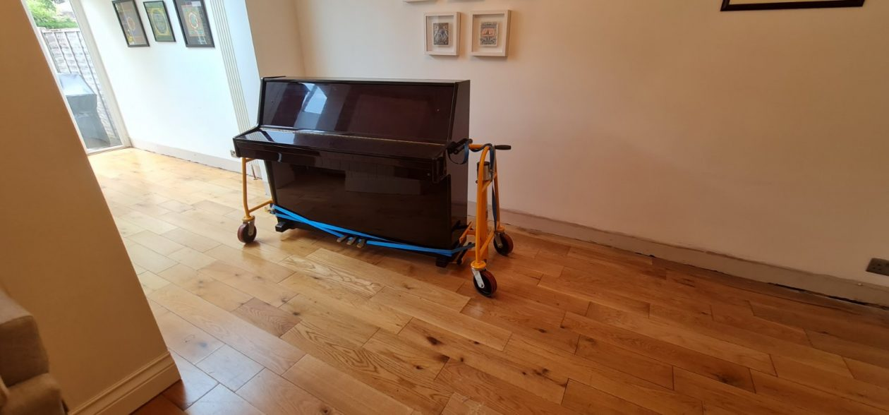 Moving Piano Before Floor Sanding